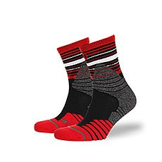 Носки средние Stance Basketball Performance Trey Red