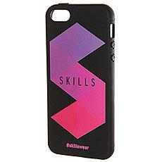 Чехол для iPhone Skills Треугольники Iphone 5/5s Черный