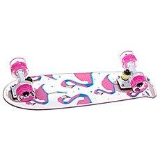 Скейт мини круизер Virgin Flamingo Clear/White/Pink 6.5 x 22.4 (57 см)