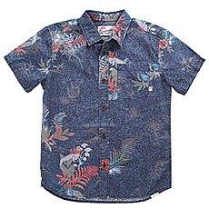 Рубашка детская Quiksilver Channelsbruzyth Navy Blazer Channels