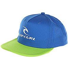 Бейсболка с прямым козырьком детская Rip Curl Corpo Mid Peak Cap Lime