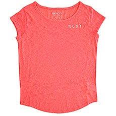 Футболка детская Roxy Shadowcircuplay Neon Grapefruit