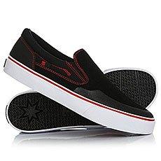 Слипоны DC Trase Slip S Rt Black/Red/White