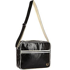 Сумка через плечо Fred Perry Classic Shoulder Bag Black/Beige