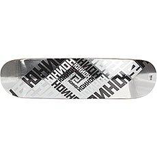 Дека для скейтборда Юнион Skateboard Team Silver 32 x 8.125 (20.6 см)