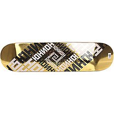 Дека для скейтборда Юнион Skateboard Team Gold 32 x 8 (20.3 см)