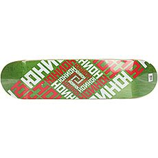 Дека для скейтборда Юнион Skateboard Team Green 31.25 x 7.75 (19.7 см)