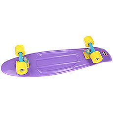Скейт мини круизер Пластборд Wild Purple 7.25 x 27 (68.5 см)