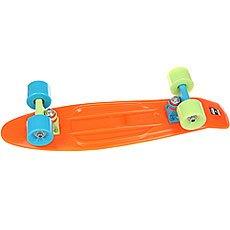 Скейт мини круизер Пластборд Orange Arancione  6 x 22.5 (57.2 см)