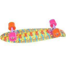 Скейт мини круизер Пластборд Sun Multi 6 x 22.5 (57.2 см)