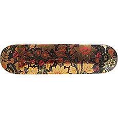 Дека для скейтборда Юнион Хохлома Gold 32 x 8.125 (20.6 см)