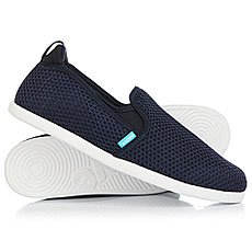 Слипоны Native Cruz Regatta Blue/Shell White