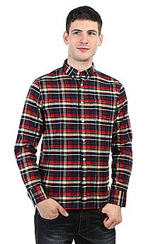 Рубашка в клетку Penfield Barrhead Check Shirt Red
