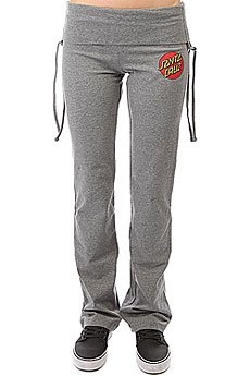 Штаны спортивные женские Santa Cruz Classic Dot Yoga Pant Charcoal Heather