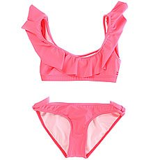 Купальник детский Billabong Sol Sear. Ruffle Set Coral Shine