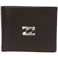 Кошелек Billabong Icon Snap Leather Chocolate