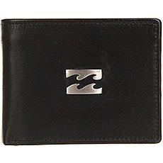 Кошелек Billabong Icon Snap Leather Black