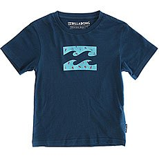 Футболка детская Billabong Team Wavess Toddler Dark Marine