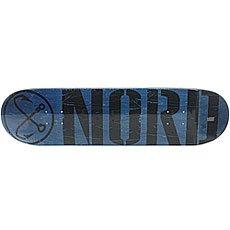 Дека для скейтборда Nord Лого Black Blue/Black 31.75 x 8 (20.3 см)
