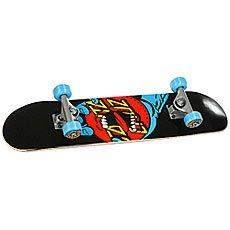 Скейтборд в сборе детский Santa Cruz Hand Dot Micro Sk8 Complete Black/Blue/Red
