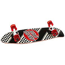 Скейт мини круизер Santa Cruz Check Stripe Jammer Cruzer Black/Red 7.4 x 29.1 (73.6 см)
