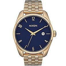 Кварцевые часы женские Nixon Bullet Gold/Navy