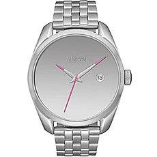 Кварцевые часы женские Nixon Bullet Silver/Mirror