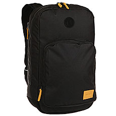 Рюкзак городской Nixon Range Backpack Black/Yellow
