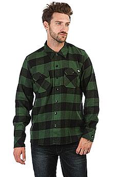 Рубашка в клетку Dickies Sacramento Pine Green