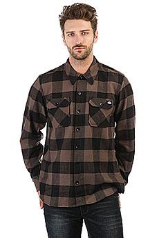 Рубашка в клетку Dickies Sacramento Gravel Gray