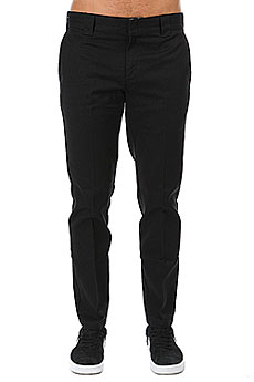 Штаны прямые Dickies Slim Fit Work Pant Black