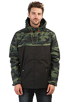 Куртка зимняя Quiksilver Wanna Four Leaf Clover Res