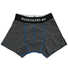 Трусы детские Quiksilver Boxer Edition Dark Charcoal Heather