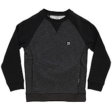 Свитшот детский Billabong Balance Crew Boy Black Heather