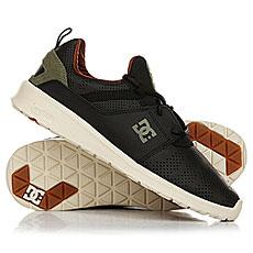 Кеды низкие DC Shoes Heathrow Black/Camo Print