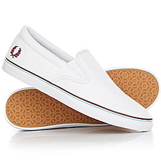 Слипоны Fred Perry Underspin Slip On Canvas White