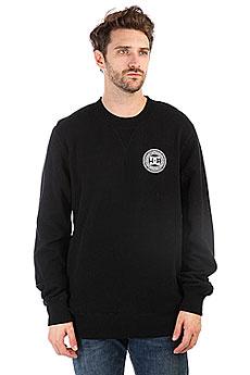 Толстовка свитшот DC Skate Circle Black