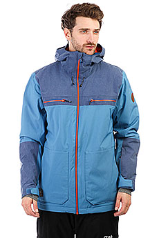 Куртка утепленная Quiksilver Arrow Wood Vallarta Blue