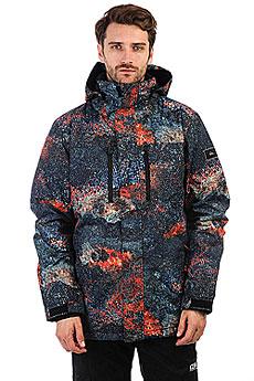 Куртка утепленная Quiksilver Tr Missn Pr Marine Iguana Real
