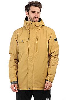 Куртка утепленная Quiksilver Mission Sol Mustard Gold