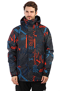 Куртка утепленная Quiksilver Mission Pr Mandarin Red Thunder