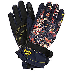 Перчатки женские Roxy Rx Jetty Gloves Peacoat Waterleaf