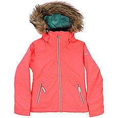 Куртка утепленная детская Roxy Jet Ski So Girl G Snjt Neon Grapefruit_gana