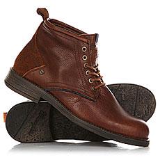 Ботинки высокие Wrangler Cliff Mid Cognac