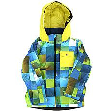 Куртка утепленная детская Quiksilver Little Mi Blue Sulphur Icey