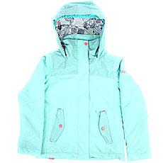 Куртка утепленная детская Roxy Rx Jetty Aruba Blue
