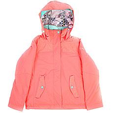 Куртка утепленная детская Roxy Jetty So Neon Grapefruit