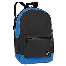 Рюкзак Herschel Packable Daypack Black/Neon Blue