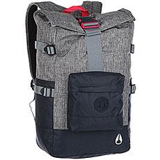 Рюкзак туристический Nixon Swamis Backpack Black Wash/Navy