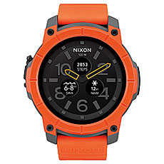 Кварцевые часы Nixon Mission Orange/Gray/Black